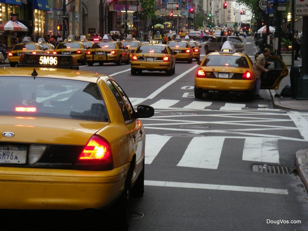 Yellow Taxi Cabs - New York